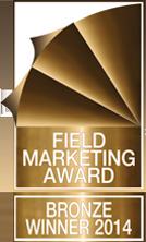 Field Marketing Award – Bronze Winner 2014