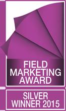 Field Marketing Award – Silver Winner 2015