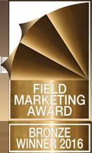 Field Marketing Award – Bronze Winner 2016