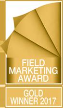 Field Marketing Award – Gold Winner 2017