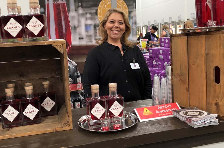 Cranes Cider Product Sampling